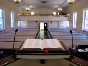 Pulpit view