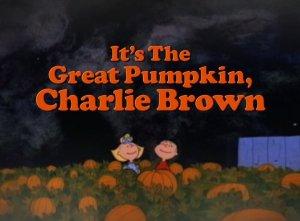 charlie brown pumpkin