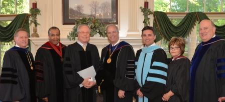 Dr. Frank Cheatham, Dr. Joseph Owens, Congressman Ed Whitfield, Dr. Michael Carter, myself, Mrs. Paula Smith, Dr. Mark Bradley