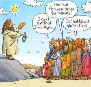 Jesus fish bread