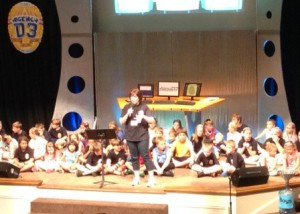 VBS Family Night at Hurstbourne Bapt Church, Louisville, KY